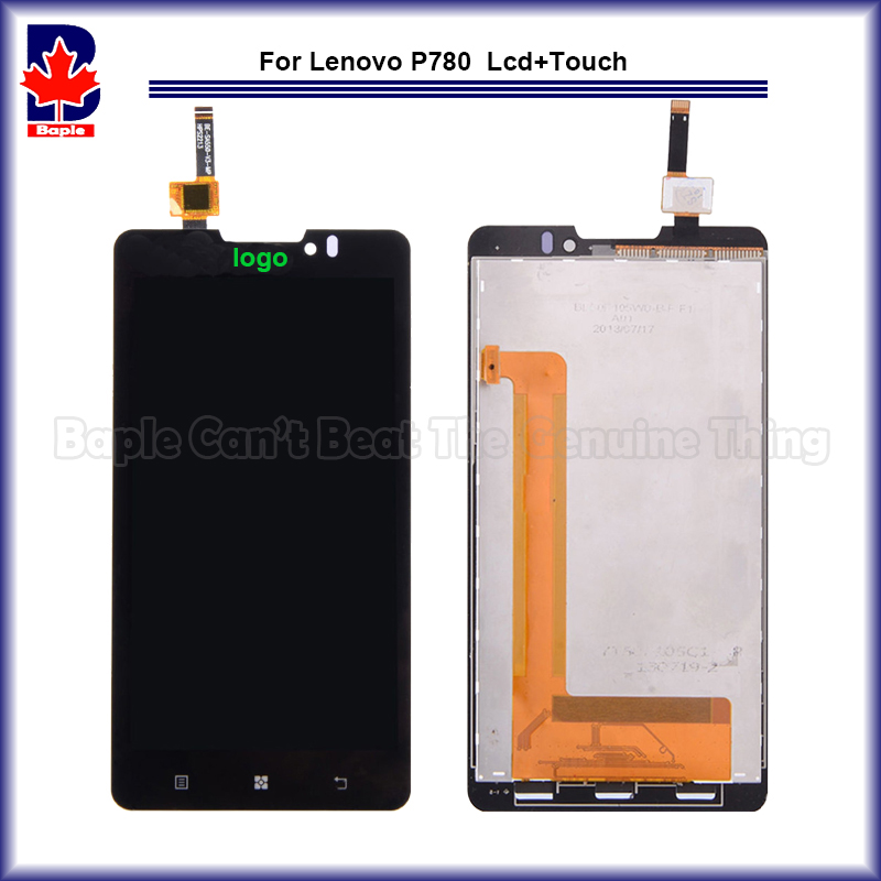 High Quality Test Passed FOR Lenovo P780 LCD Display + touch Screen Digitizer Assembly Replacement Free Shipping Tracking high quality 5 3 for lenovo s898 s898t lcd display touch screen digitizer assembly replacement tools free shipping