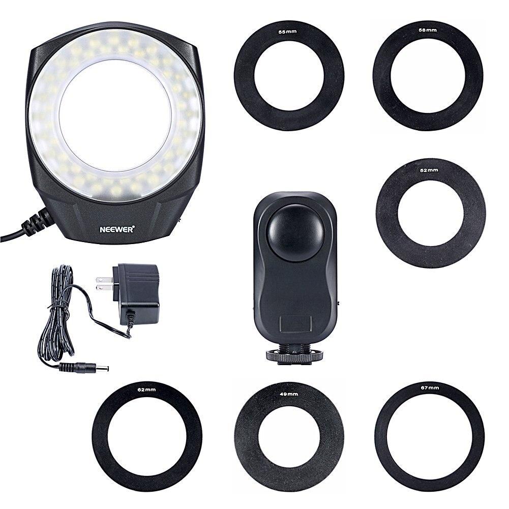 ФОТО Godox Ring48 LED Macro Ring Light + Ring head + AC-Adapter + Rings Controller