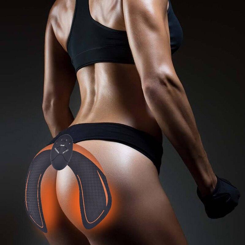 EMS caderas estimulador muscular cinturón ABS Fitness portátil trasero Toner entrenador postcentral adelgazamiento masajeador Unisex