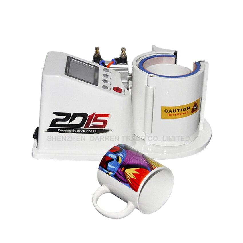 ST110 мини пневматическая Вертикальная термопечать Магическая кружка для кофе с печатью 230 110 В - 6