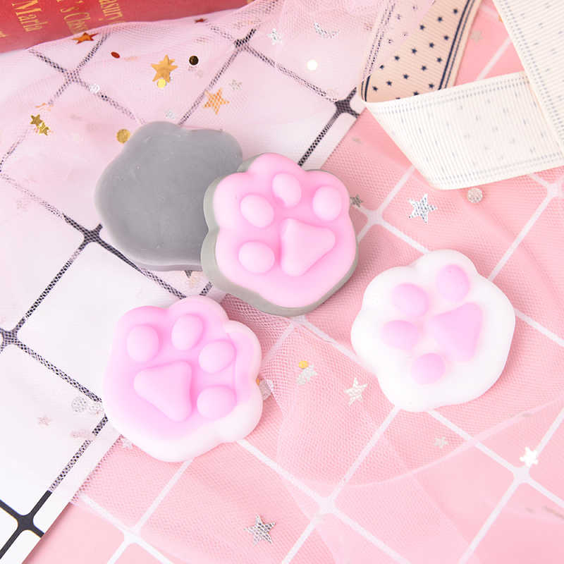 1pcs Cute Squishy Cat Antistress Slime Entertainment Stress Relief Tool For Gadget Fun Squeeze Healing Soft Vent Toys