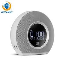 High Quality Fashion Design Multimedia LCD Screen HD Display Desktop Despertador Bluetooth Stereo Mini LED Alarm Clock