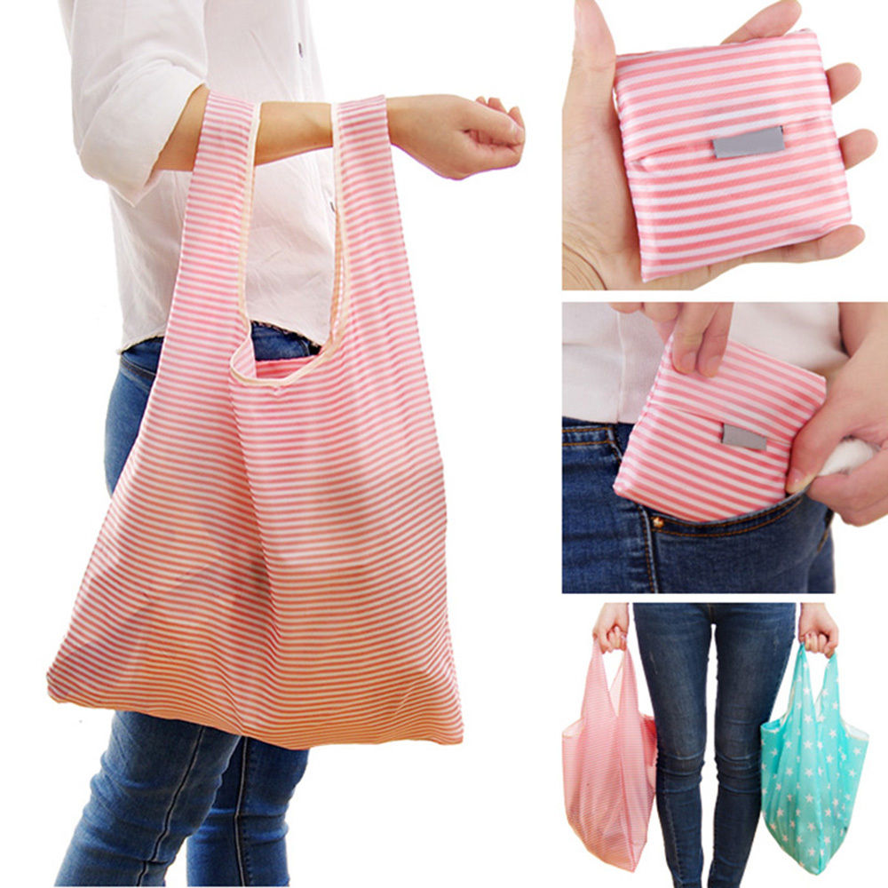 Detail Feedback Questions about New Foldable Friendly Reusable Eco Storage  Solid Color Travel Shopping Tote Grocery Bags NEW 35   58 8CM on  Aliexpress.com ... 4bdc3580f2a46