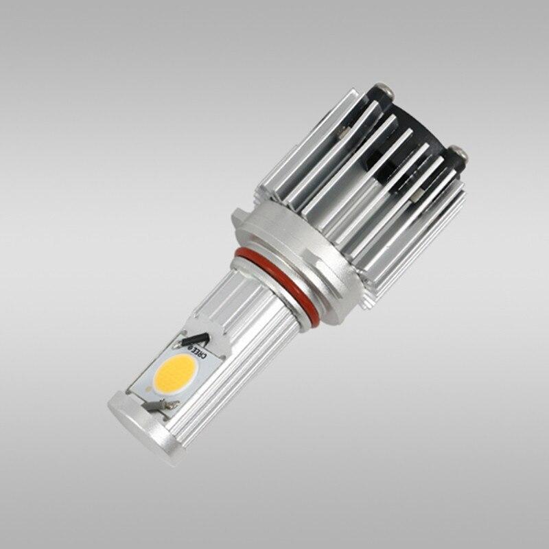 ФОТО 2 pcs/set CREE 30W auto parts super bright automotive LED Head lamp car light bulbs 9005/HB3 A-series Headlight conversion Kits