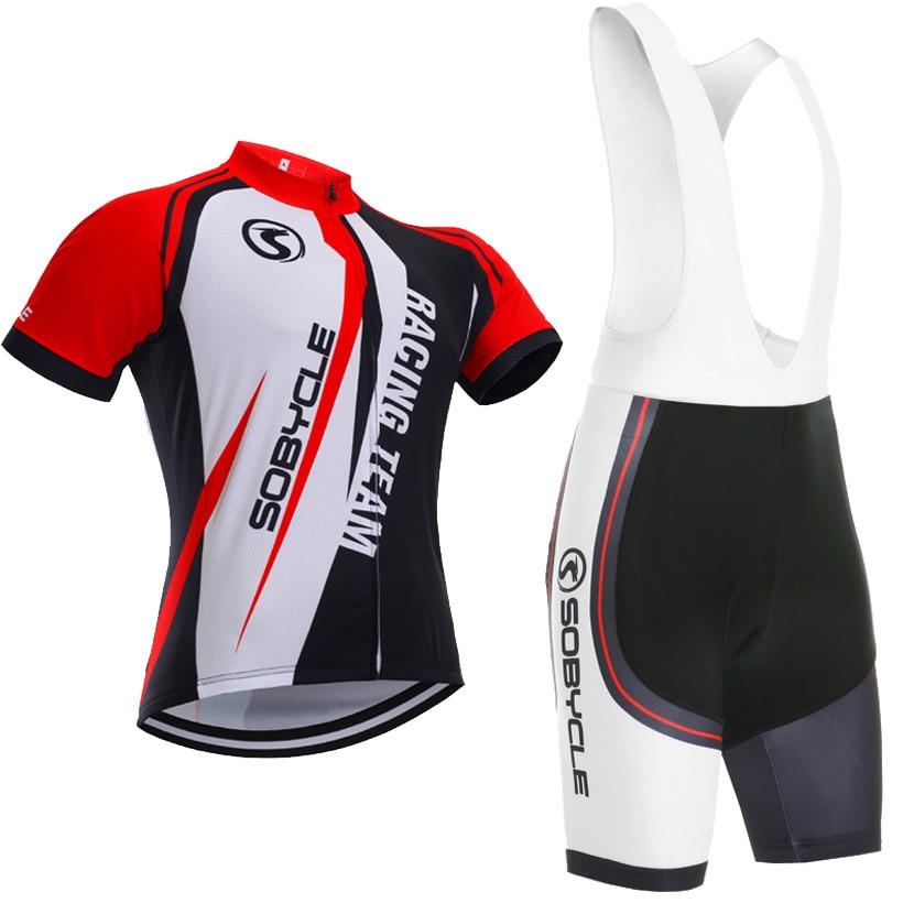 Racing Team Sobycle marke team pro radtrikot 9D gel pad bike shorts set Ropa Ciclismo sommer radfahren Maillot wear