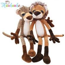 24inch New Lion Stuffed Animal Leopard Giraffe  Plush Toy Kids Doll Gift