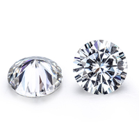 High Quality 2 Carat 8.0mm EF Color Moissanites Loose Stone VVS1 Test Positive Lab Diamonds for Jewelry