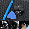 Новый Передач Наклейки Переключения Панель для BMW///M M3 M5 X1 X3 X5 X6 F01 F10 F30 F35 F18 GT 1 3 5 6 7 Seriers Left Hand Drive