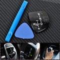 New Gear Sticker Shift Knob Panel for BMW ///M X1 X3 X5 X6 M3 M5 F01 F10 F30 F35 F18 GT 1 3 5 6 7 Seriers  Left Hand Drive