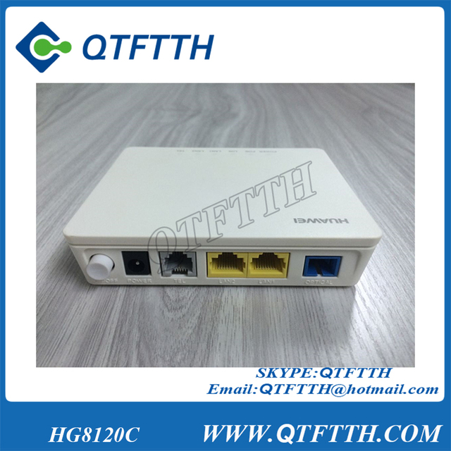 US $28 0 | Huawei HG8120C Gpon terminal FTTH ONT apply to FTTH mode,1  invoice POTS+2FE LAN PORTS-in Fiber Optic Equipments from Cellphones &
