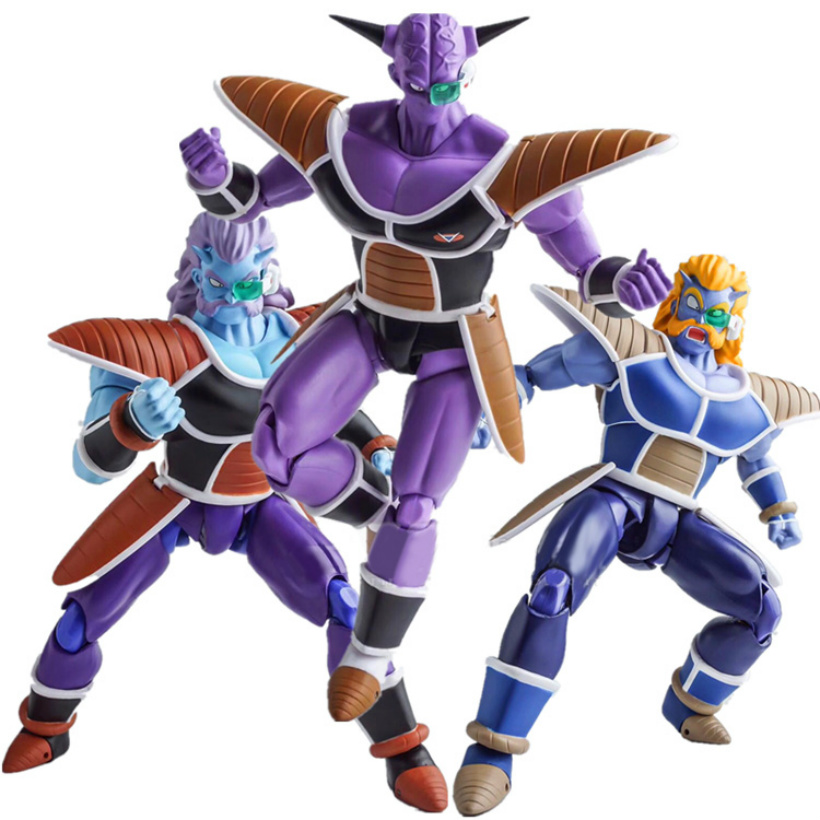 цена Demoniacal Fit Dragon Ball Z DBZ S.H.Figuarts shf Freeza Soldier Ginew PVC Action Figure Model Kid Dolls Figurals Collectible