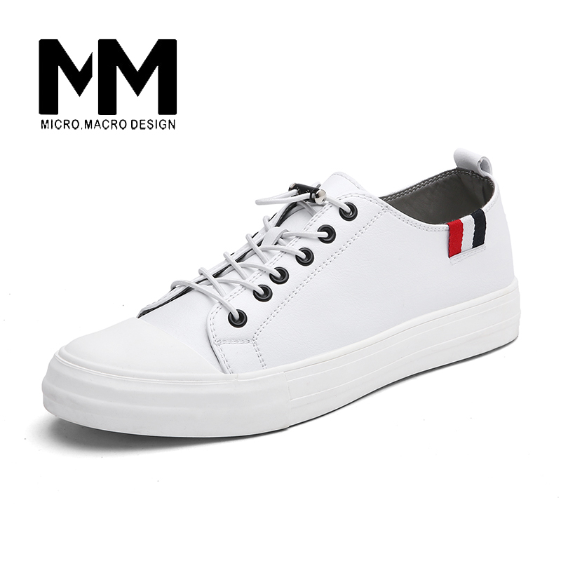 MICRO.MICRO 2017 Brand men casual shoes comfortable spring fashion breathable men white shoes microfiber leather shoe 1881 micro micro 2017 men casual shoes comfortable spring fashion breathable white shoes swallow pattern microfiber shoe yj a081