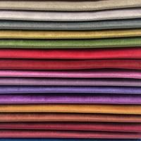 ใหม่50สีแข็งธรรมดาย้อมกำมะหยี่ผ้าโซฟาเก้าอี้โรงแรมตกแต่งบ้านผ้าม่านผ้าหุ้ม