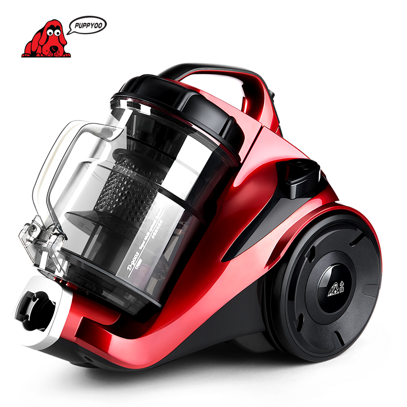 PUPPYOO Cleaner Low Noise Mites Killing Vacuum Cleaner For Home Vacuum Cleaner Powerful Suction Dust Collector