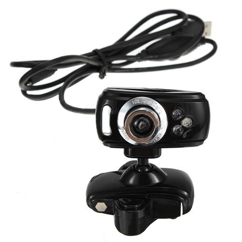 Hot USB 3 LEADs 30M Mega HD Webcam Camera + Mic for PC Desktop Win 7 8