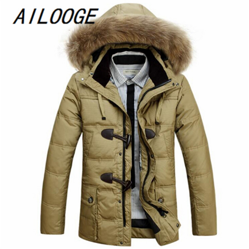 2016 new arrival jeep winter men long thick coat fashion casual high qualtiy warm with hood coat plus size M L XL XXL3XL