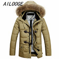2016 new arrival jeep winter men long thick coat fashion casual high qualtiy warm with hood coat plus size M L XL XXL3XL