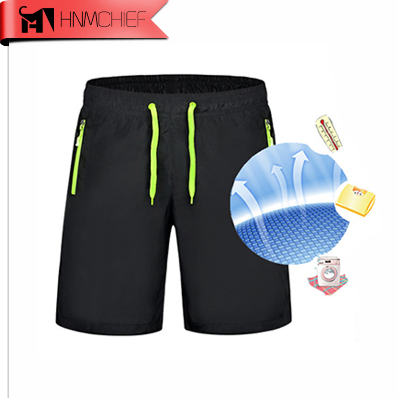 2017 New Summer Men's Zipper Pocket Beach   Shorts   Leisure Sport Running Jogger   Shorts   Sea Bermuda Surf Holiday   Board     Shorts   M-9XL