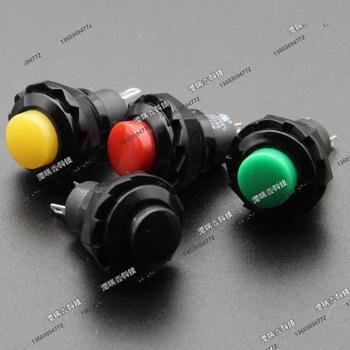 [SA]R13-502 A/B GREEN RED BLACK yellow button normally open switch Taiwan New SCI single lock- press on the reset M12.7--50pcs