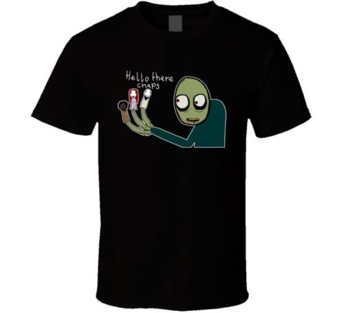 de17e88c9e2e Salad Fingers Rusty Spoons T Shirt-in T-Shirts from Men's Clothing ...