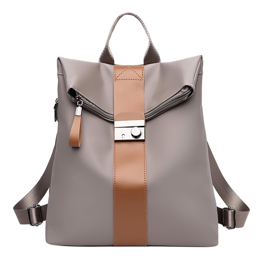 OCARDIAN Backpack Casual Fashion Women's Leisure Multi-function Large Capacity Female Flexo Bag Student Backpacks Dropship May13