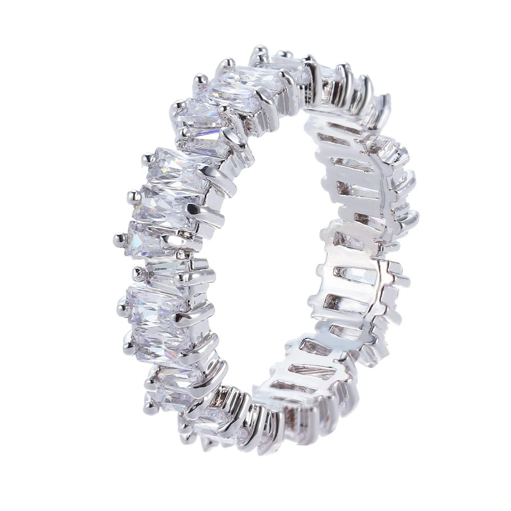 Rongyawei NEW Fashion Luxury Charm AAA Cz Wedding Ring Women Party Jewelry Free Shipping