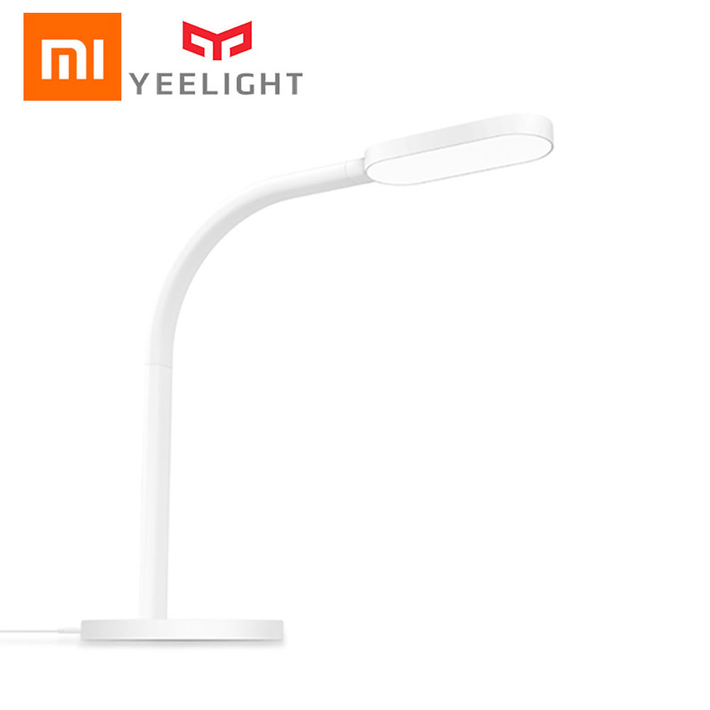 Original Xiaomi Mijia Yeelight LED Desk Lamp Smart Table Lamps Folding Touch Eyecare Reading Desk light White And Warm