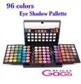 Maquiagem beleza Set 3 Camada Projetos 96 Completa Pigmento Cores de Sombra Make Up Kit Cosméticos Paleta Da Sombra de Olho Frete Grátis