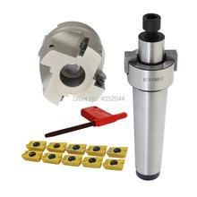 MT2 MT3 MT4 FMB22 Mohs face milling handle+BAP400R 50 22 4T 63 22 4T face milling cutter head+10pcs APMT1604 H2 carbide blade