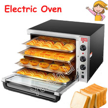 цены 220V Large Capacity Oven 4500W Commercial Electric Oven Cake Bread Large Pantry Oven Hot Air Circulation Oven ITO-EC01C