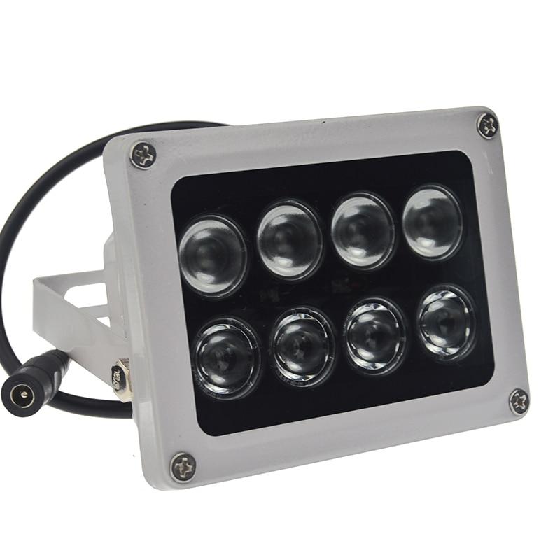IP66 Waterproof CCTV LEDS 8 Array IR Leds Illuminator Light CCTV Infrared IR Outdoor Lights for CCTV Camera Night Vision 2