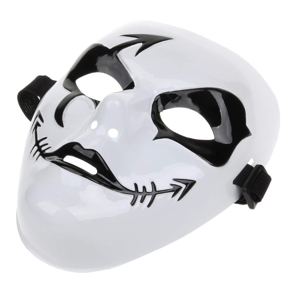 Horror Fishbone Arrow Scars Pirate Mask for Halloween Party in ...