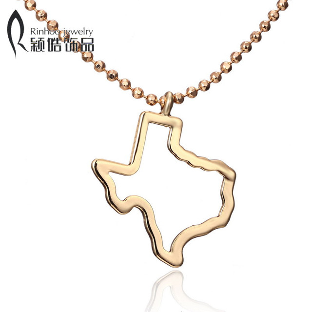 Map jewerly outline state of texas necklace pendant hollow texas map jewerly outline state of texas necklace pendant hollow texas map necklace america usa state necklaces aloadofball Gallery