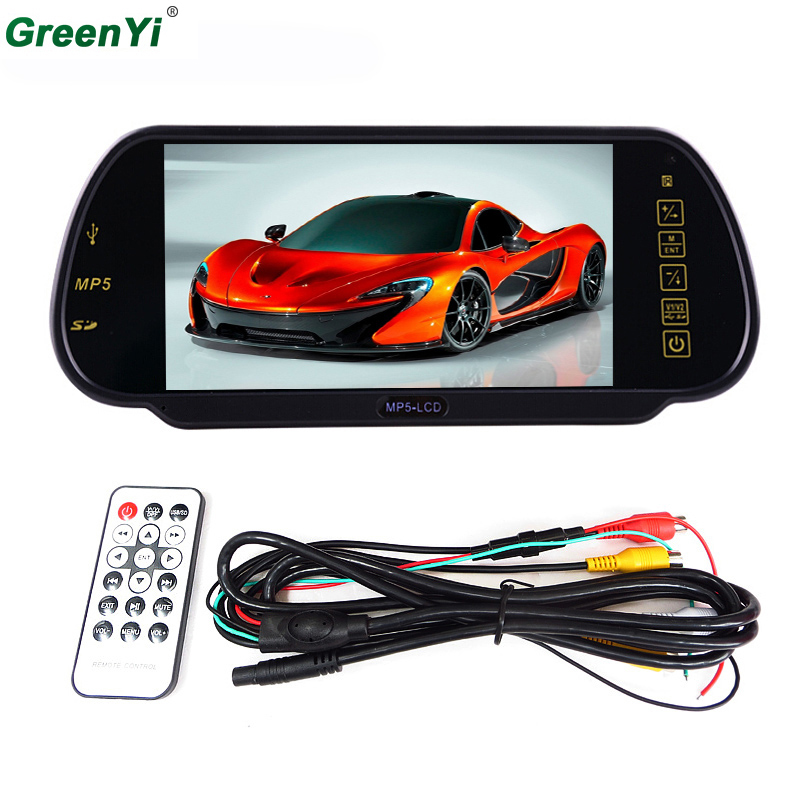 Car Parking Assistance Car Rear View Camera Reverse Monitor Support MP5 SD USB FM Radio DVD