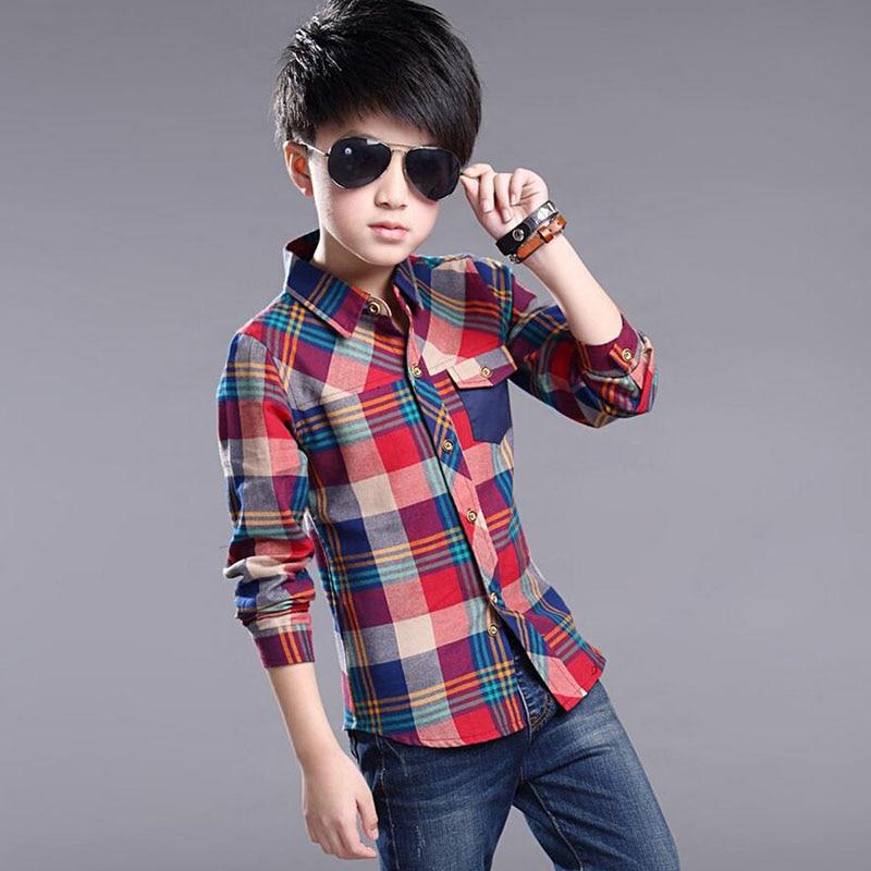 881 23 De Descuento2019 Ropa De Primavera Para Niños Moda Casual Camisa Atractiva Para Niños Blusas De Algodón Para Niños Camisas De Vestir De