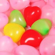 100PCS/lot 12inch latex Heart Helium Balloons Inflatable Air ballon for Wedding Decoration unicorn Party happy birthday