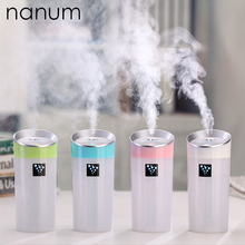 цена на Car USB Humidifier Ultrasonic Humidifiers Air Aroma Diffuser 300ML Mist Maker, Essential Oil diffuser of Home and Car