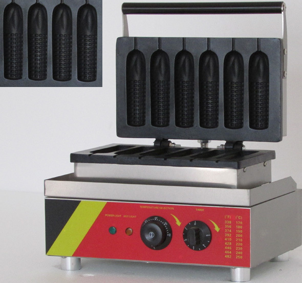 electric corn shape lolly waffle maker machine_waffle iron lole капри lsw1349 lively capris xl blue corn