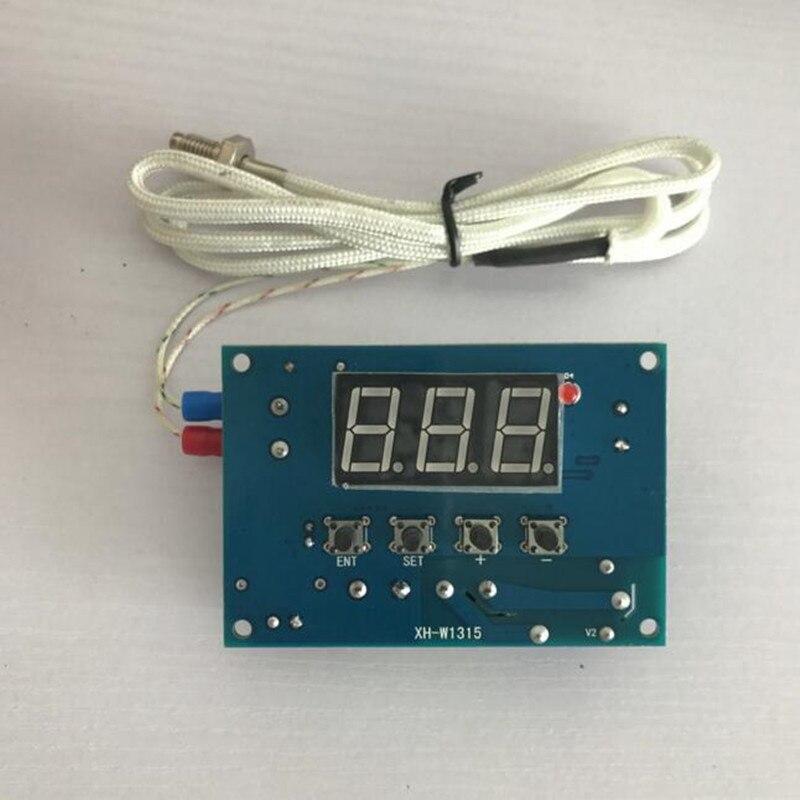 Termopar tipo k de Alta-temperatura Controlador do Termostato Board + Sensor de Temperatura Digital Led Dispaly -30999c 12 v 24 220