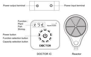 Image 5 - Bluetooth smart Chihiros Doctor twinstar 3rd generation Algae remove electronic inhibit green aquarium fish water plant tank