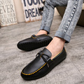 Mens Boat Shoes Autumn Spring Summer Flats Soft PU Breathable Mesh Men Loafers Slip on Non-Slip Fashion Driving Shoe moccasins