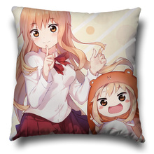 Cute Cartoon Pattern Anime Pillowcase Himouto! Umaru chan Pillow Case Otaku Cushions Cover Outdoor Chair