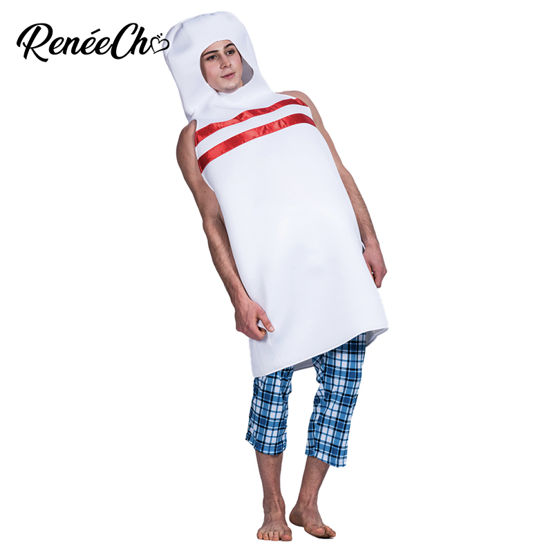 Bowling Pin Mascot Costume Custom Fancy Costume Anime Cosplay Kit Mascotte Theme Fancy Dress Cranival Hallowen Costume For Adult