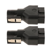 2Pcs Brand New Car 16 Pin Male OBD1 OBD2 Connector Adapter Diagnostic Interface Scanner Tool  Car Cable For GM TECH2