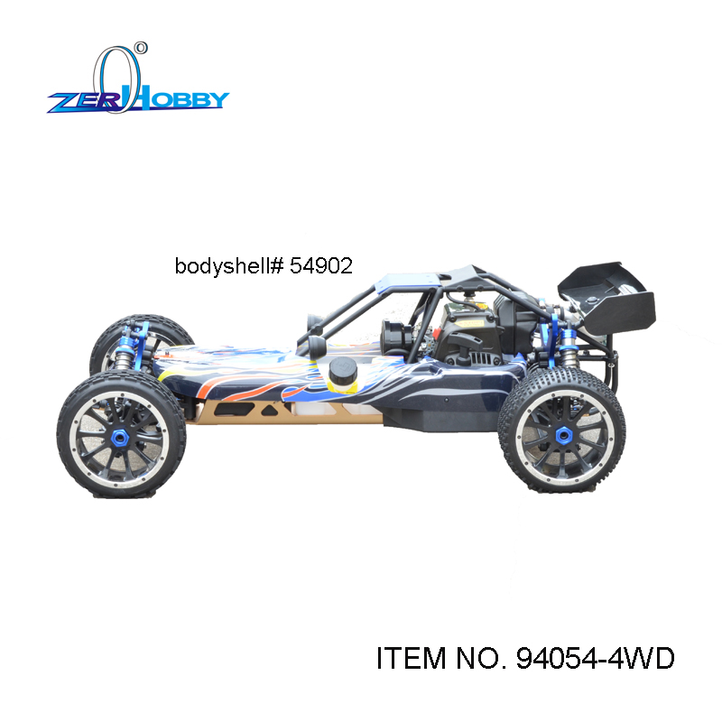 RC CAR TOYS HSP BAJA BUGGY HIGH SPEED 1/5 GAS POWERED 30CC ENGINE OFF ROAD BUGGY BAJA 4WD SYSTEM 2.4G RADIO (ITEM NO. 94054-4WD) 02023 clutch bell double gears 19t 24t for rc hsp 1 10th 4wd on road off road car truck silver