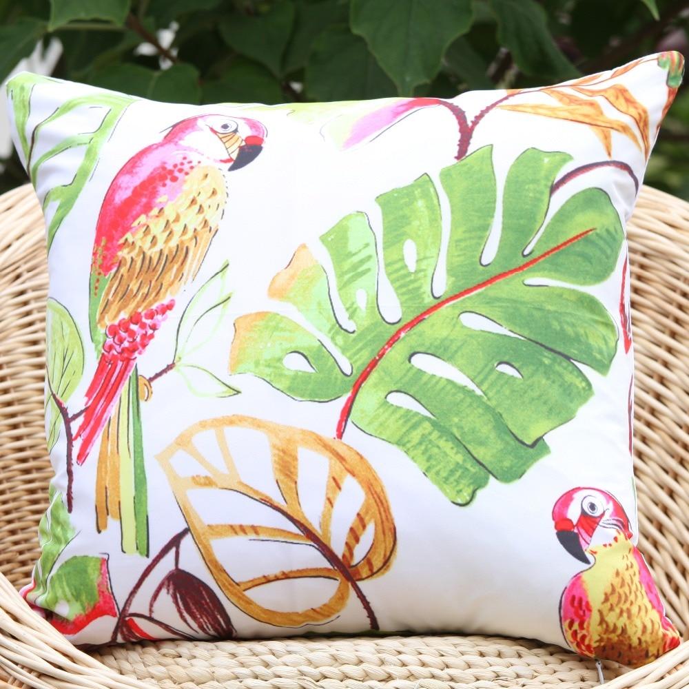 17 new arrival Tropical Parrot pattern microfiber decorative ...