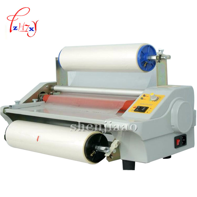 A3 Paper Laminating Machine,cold Roll Laminator Four Rollers Laminating Machine Worker Card,office File Laminator 110v / 220v