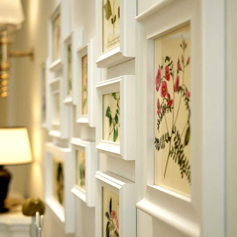 INKANEAR الإبداعية موضة جميلة اللوحة بحري نمط إطار صور مجموعة خشب متين ديكور المنزل جدار الديكور لتقوم بها بنفسك HF9011