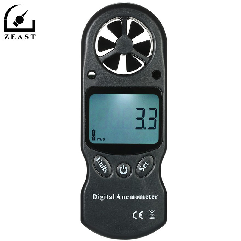 8 in 1 Handheld Digital Anemometer Wind Speed Temperature Humidity Tester Wind Chill Index Barometric Pressure Altitude Meter st 8022 st8022 temperature humidity wind meter anemometer