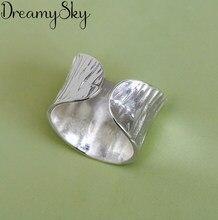 Женские винтажные кольца серебряного цвета, богемные открытые кольца на палец для свадебной вечеринки, модные ювелирные украшения